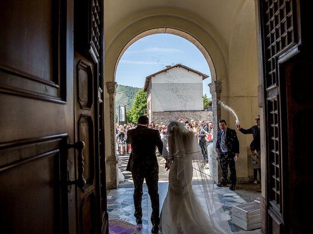 Il matrimonio di Omar e Michela a Selvino, Bergamo 87