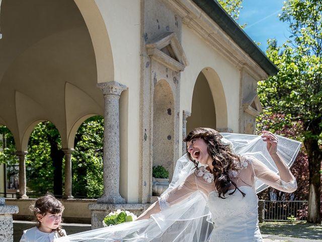 Il matrimonio di Omar e Michela a Selvino, Bergamo 116