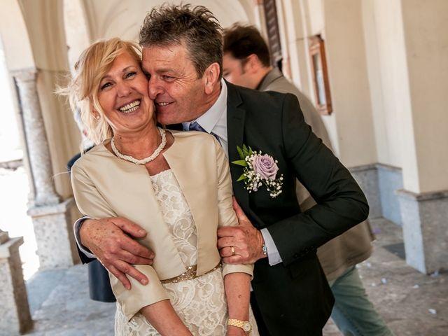 Il matrimonio di Omar e Michela a Selvino, Bergamo 140