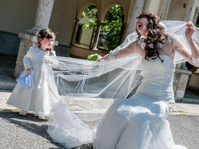Il matrimonio di Omar e Michela a Selvino, Bergamo 141