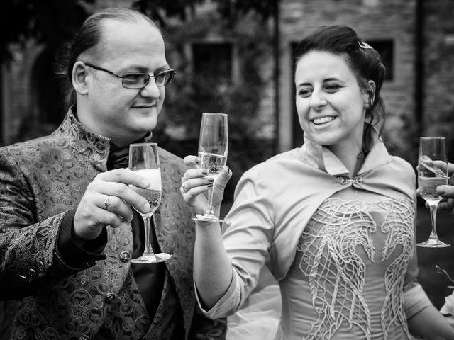 Il matrimonio di Costanza e Gianni a Poppi, Arezzo 22