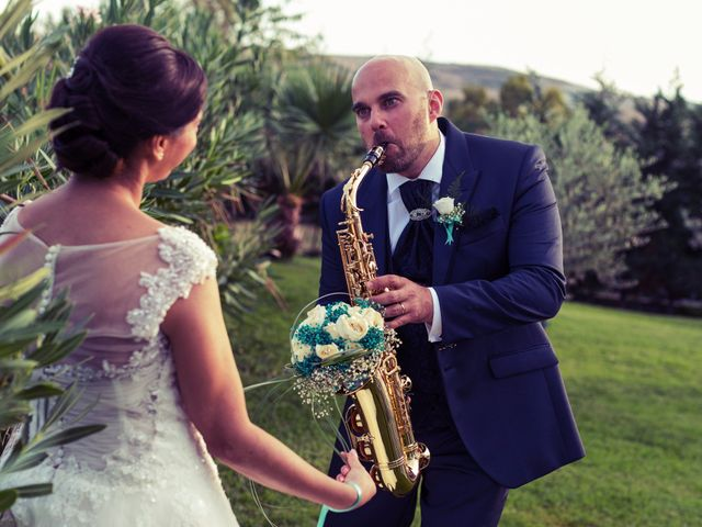 le nozze di Sabrina e Davide