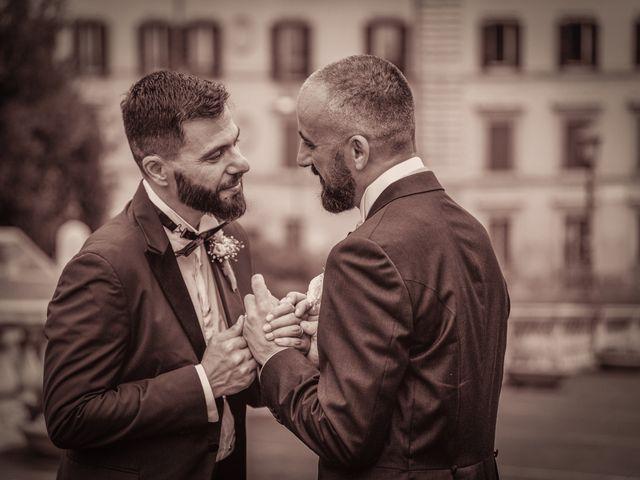 Il matrimonio di Angelo e Walter a Frascati, Roma 10