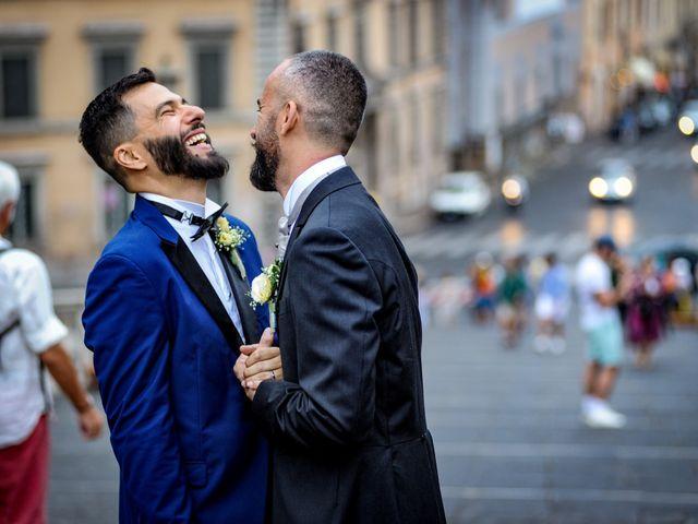 Il matrimonio di Angelo e Walter a Frascati, Roma 15