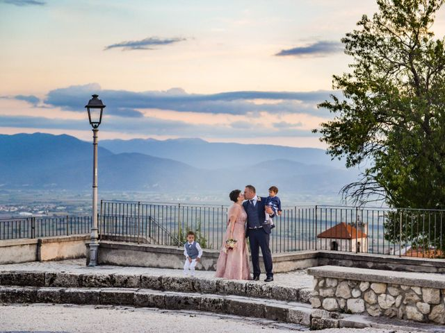 Il matrimonio di Fabrizio e Valentina a Aielli, L'Aquila 13