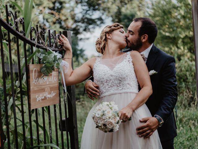 Il matrimonio di Amedeo e Sofia a Gornate-Olona, Varese 55