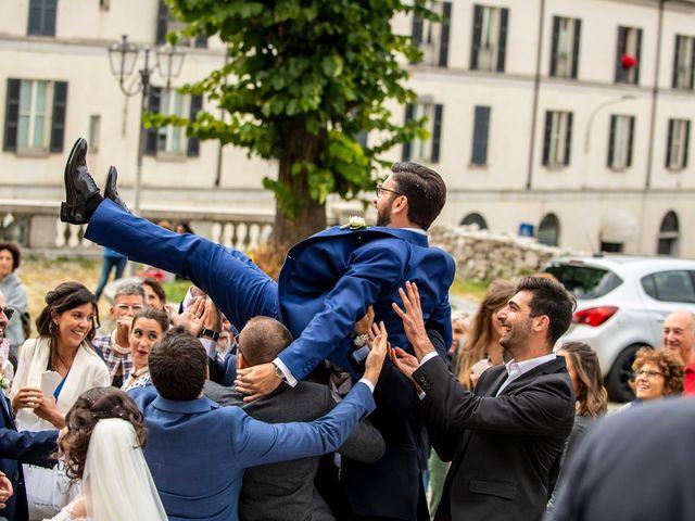 Il matrimonio di Emanuele e Melissa a Lecco, Lecco 48