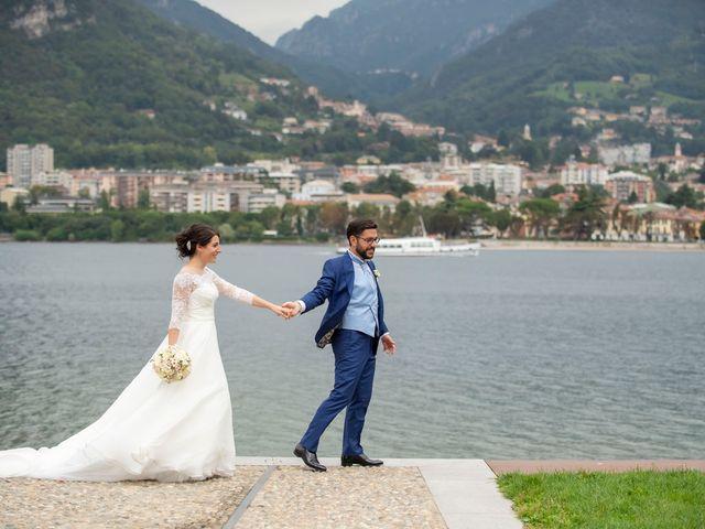 Il matrimonio di Emanuele e Melissa a Lecco, Lecco 54