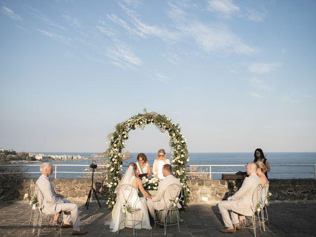 Il matrimonio di Rod e Sharon a Aci Castello, Catania 36