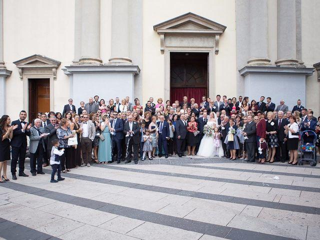 Il matrimonio di Massimo e Melissa a Nova Milanese, Monza e Brianza 82