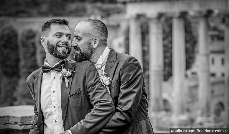 Il matrimonio di Angelo e Walter a Frascati, Roma