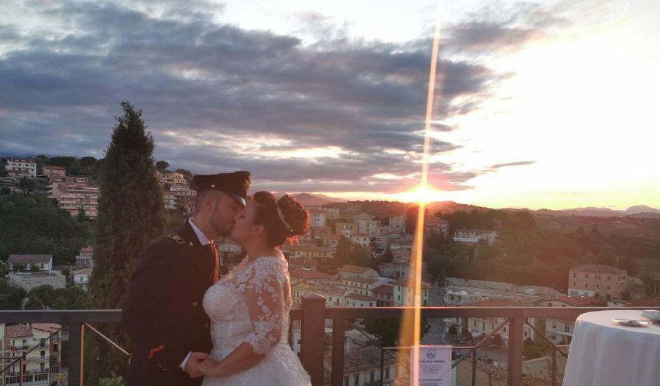 Il matrimonio di Donatella e Simone a Loreto Aprutino, Pescara