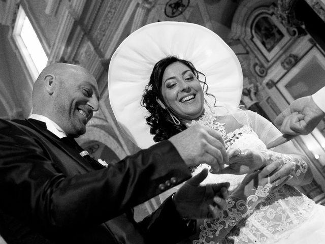 Le nozze di Carmela e Antonio