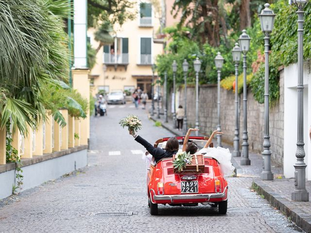 Il matrimonio di Marco e Ivana a Sorrento, Napoli 21