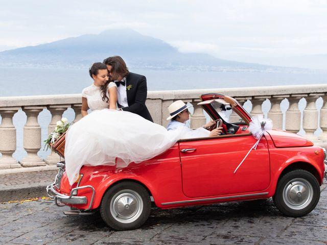 Il matrimonio di Marco e Ivana a Sorrento, Napoli 22