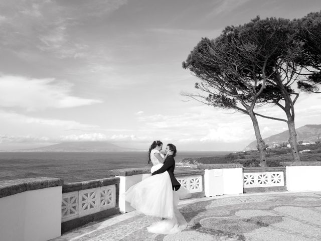 Il matrimonio di Marco e Ivana a Sorrento, Napoli 30