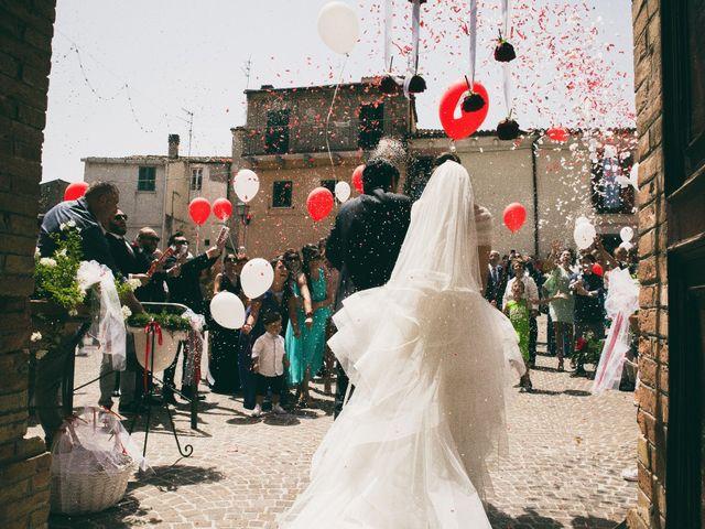 Il matrimonio di Luigi e Francesca a Casalincontrada, Chieti 40