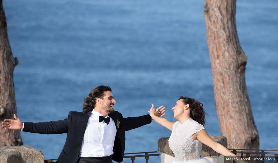 Il matrimonio di Marco e Ivana a Sorrento, Napoli