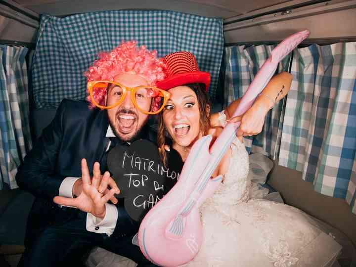 le nozze di Sara e Mariano