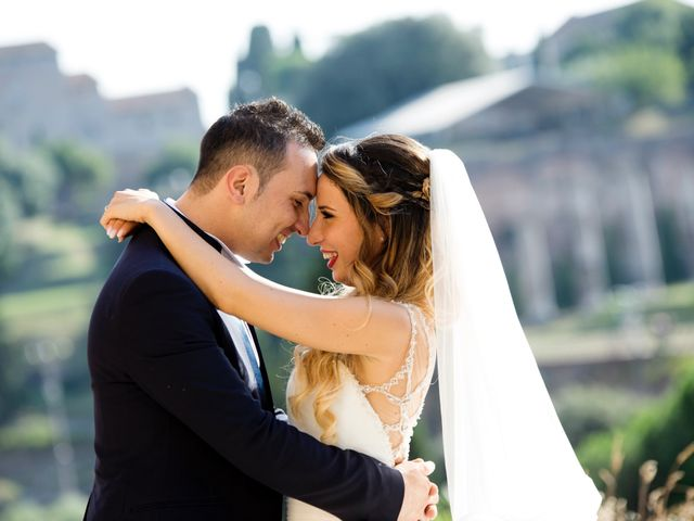 Il matrimonio di Marco e Francesca a Roma, Roma 3