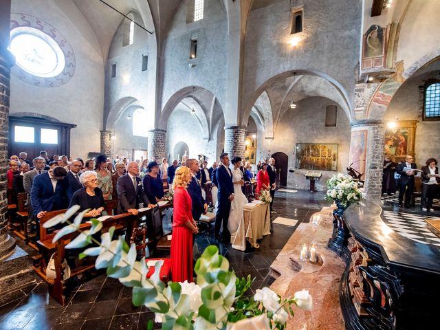Il matrimonio di Christian e Anna a Varenna, Lecco 33