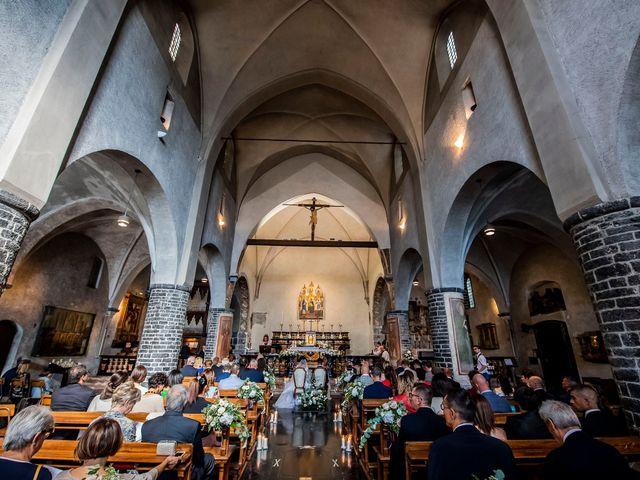 Il matrimonio di Christian e Anna a Varenna, Lecco 35