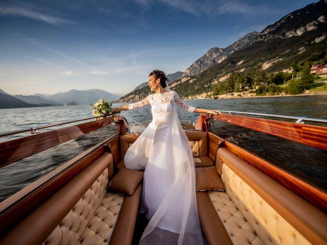 Il matrimonio di Christian e Anna a Varenna, Lecco 58
