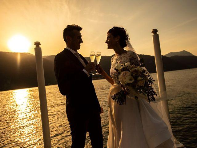 Il matrimonio di Christian e Anna a Varenna, Lecco 61