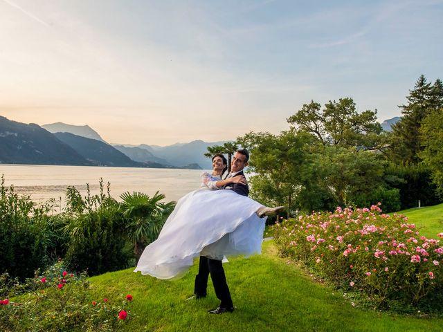 Il matrimonio di Christian e Anna a Varenna, Lecco 73