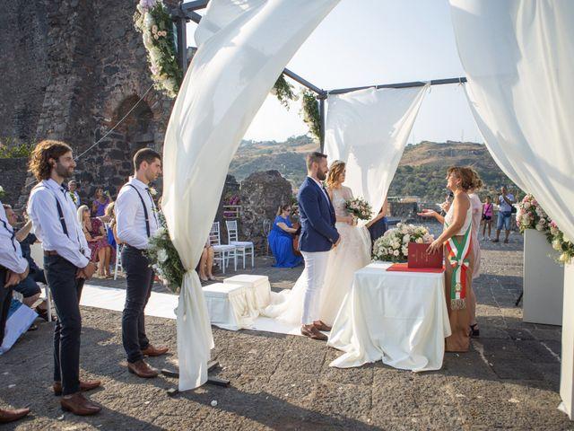 Il matrimonio di Angelo e Raechelle a Aci Castello, Catania 7