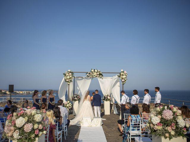 Il matrimonio di Angelo e Raechelle a Aci Castello, Catania 8