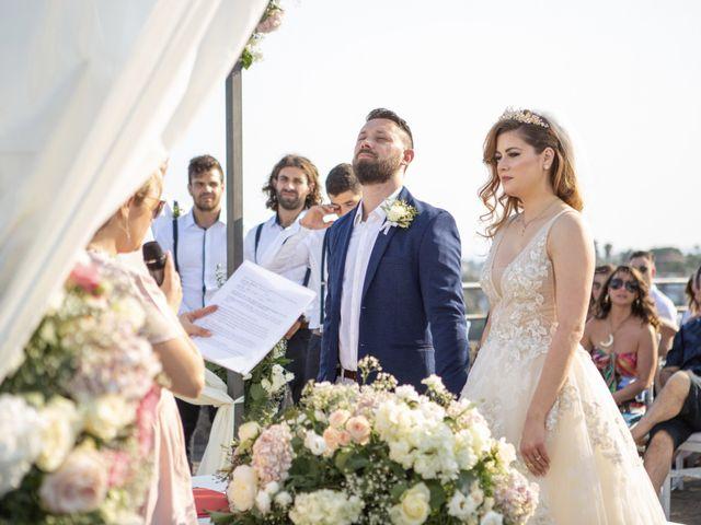 Il matrimonio di Angelo e Raechelle a Aci Castello, Catania 9