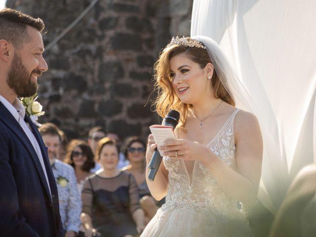 Il matrimonio di Angelo e Raechelle a Aci Castello, Catania 10