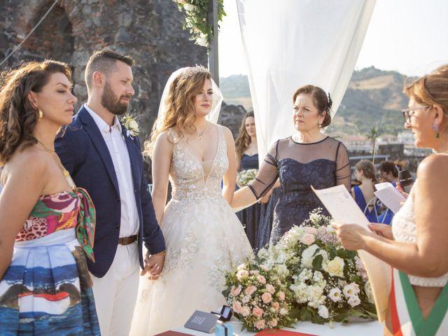 Il matrimonio di Angelo e Raechelle a Aci Castello, Catania 14