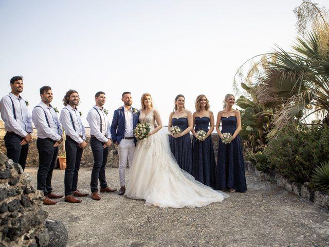 Il matrimonio di Angelo e Raechelle a Aci Castello, Catania 22