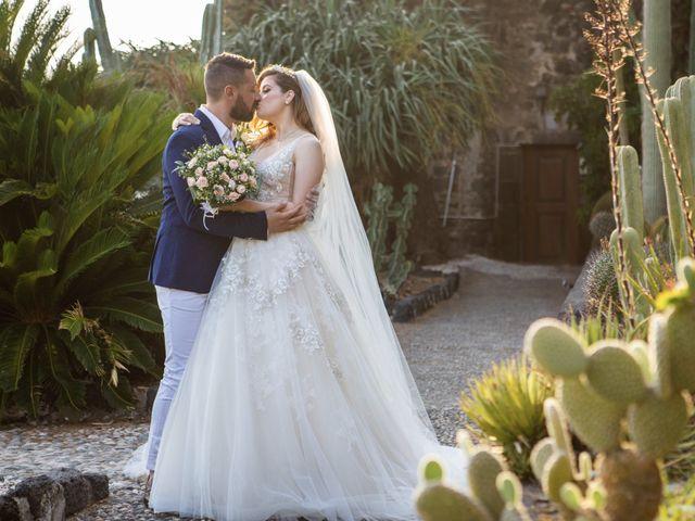 Il matrimonio di Angelo e Raechelle a Aci Castello, Catania 27