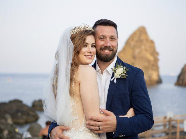 Il matrimonio di Angelo e Raechelle a Aci Castello, Catania 38
