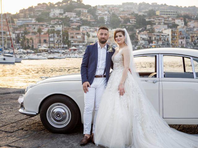 Il matrimonio di Angelo e Raechelle a Aci Castello, Catania 43