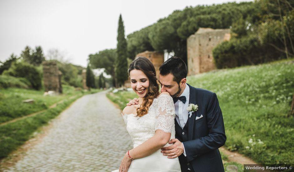 Il matrimonio di Michele e Arianna a Roma, Roma