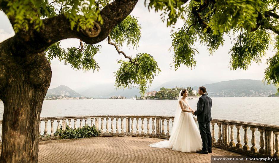 Il matrimonio di German e Mirjam a Stresa, Verbania