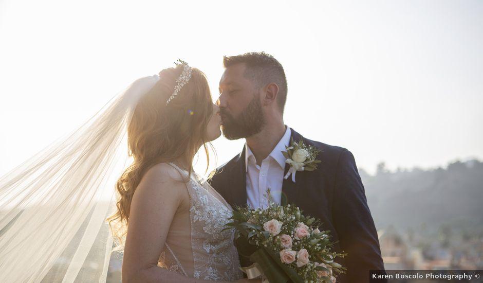 Il matrimonio di Angelo e Raechelle a Aci Castello, Catania