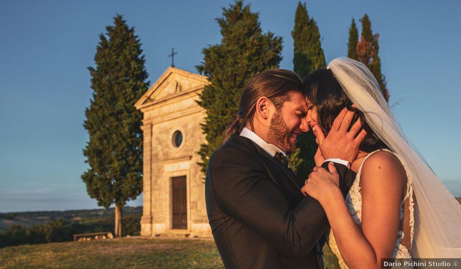 Il matrimonio di Simone e Federica a Montepulciano, Siena