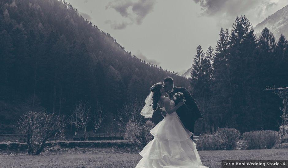 Il matrimonio di Umberto e Roberta a Carisolo, Trento