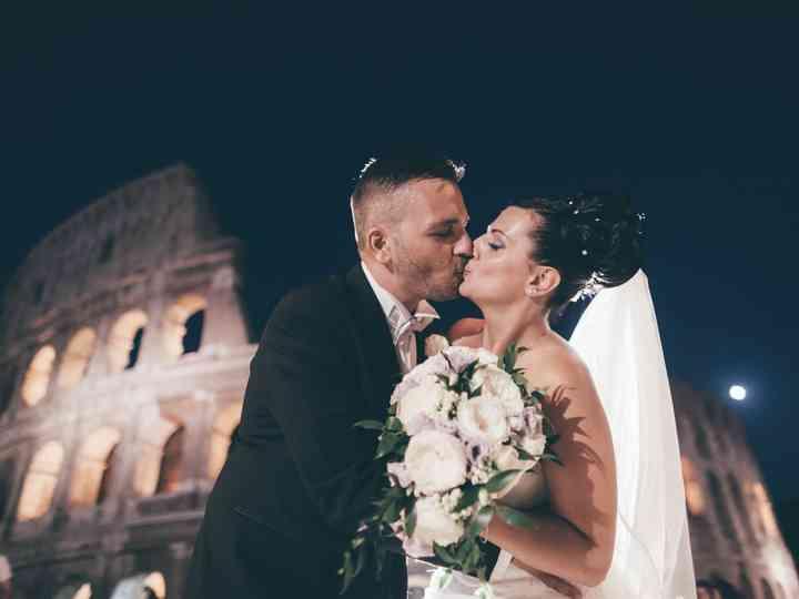 le nozze di Fabiana e Damiano