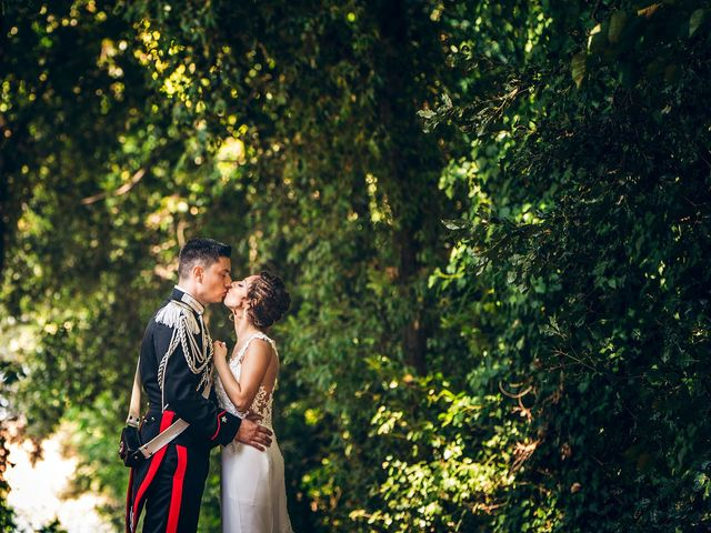 le nozze di Alessandra e Daniele