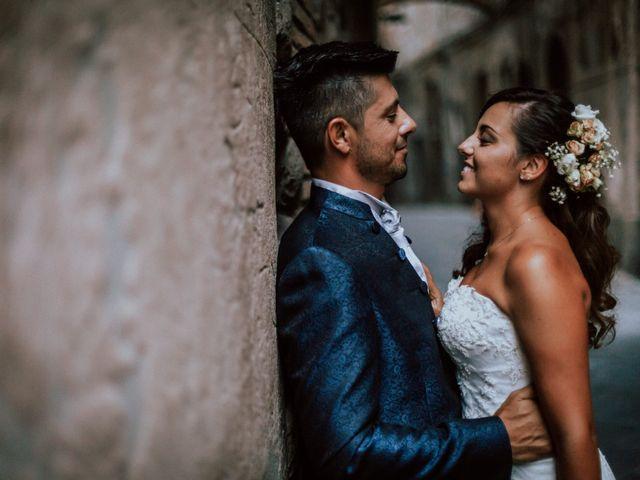 le nozze di Chiara e Mario
