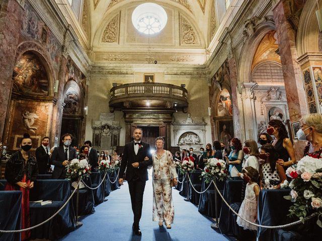 Il matrimonio di Massimo e Silvia a Ceri, Roma 16
