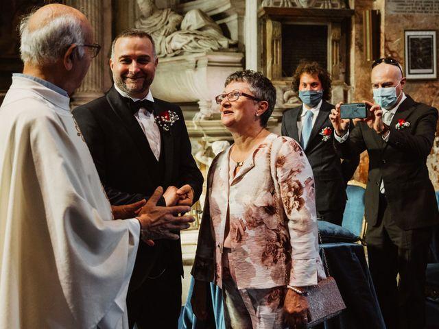 Il matrimonio di Massimo e Silvia a Ceri, Roma 17