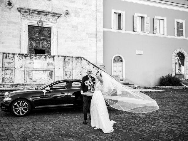 Il matrimonio di Massimo e Silvia a Ceri, Roma 19