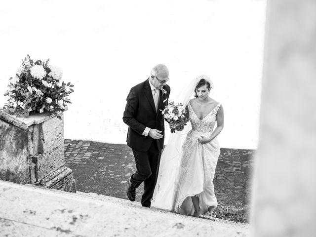 Il matrimonio di Massimo e Silvia a Ceri, Roma 20
